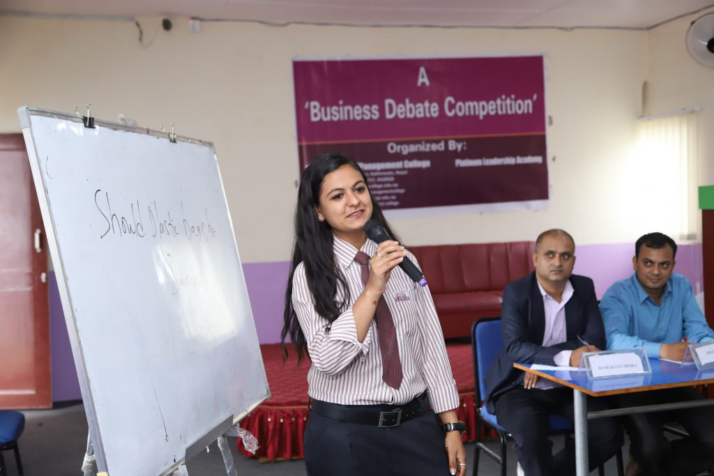 business debate competition